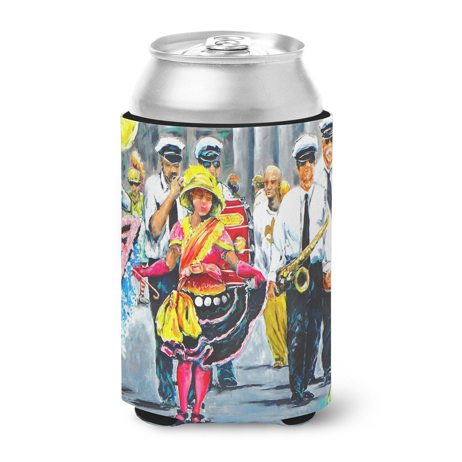 Buy this Mardi Gras Dancin' in the Street Can or Bottle Hugger MW1324CC