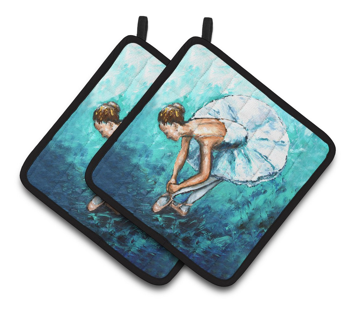 Buy this Ballet Early Pratice Pair of Pot Holders MW1325PTHD
