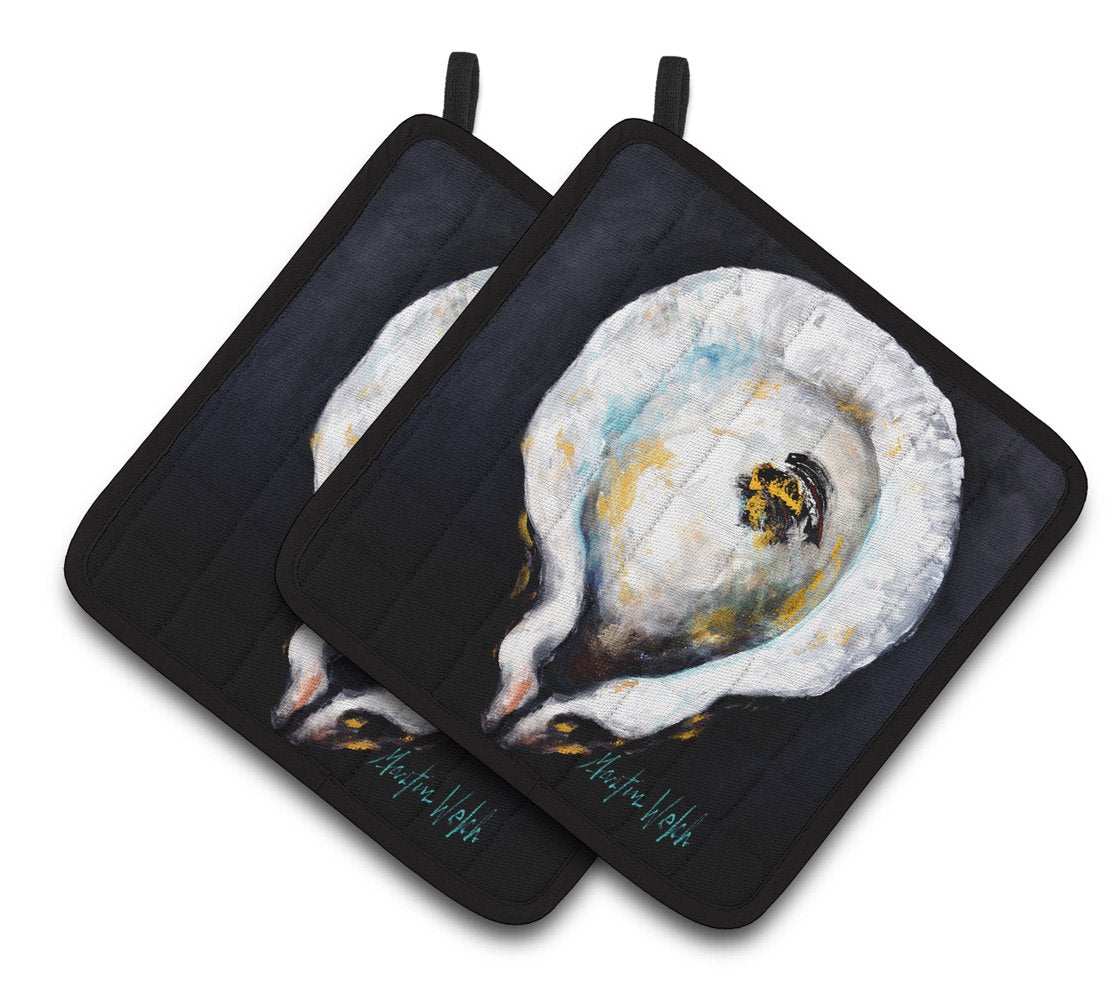 Buy this Oyster Eye Five Pair of Pot Holders MW1327PTHD