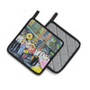 French Quarter Frolic Pair of Pot Holders MW1328PTHD