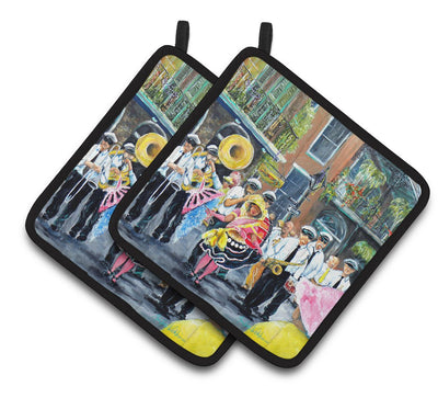 Buy this French Quarter Frolic Pair of Pot Holders MW1328PTHD