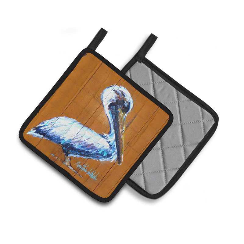 Buy this Pelican Hangin In Pair of Pot Holders MW1330PTHD