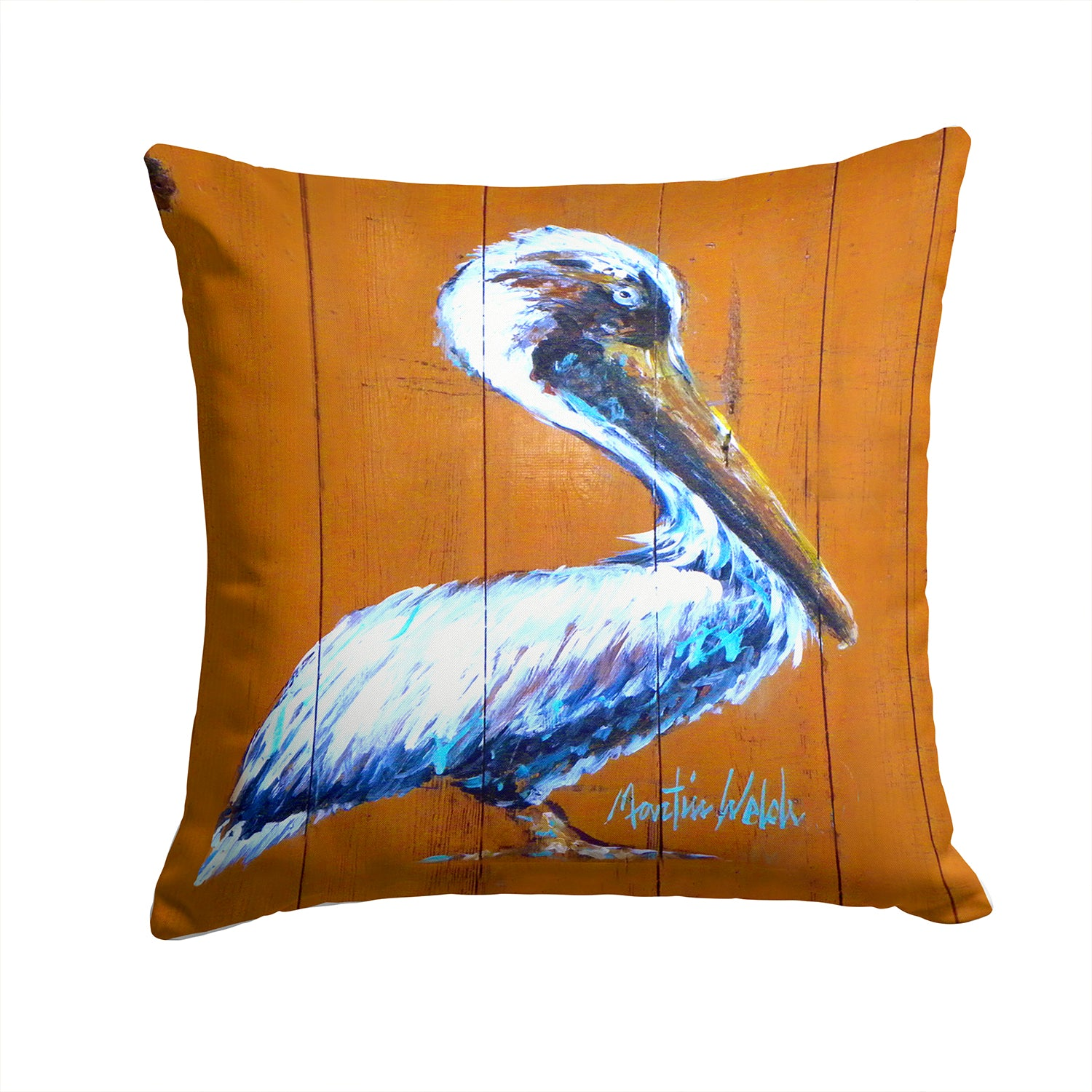 Buy this Pelican Hangin In Fabric Decorative Pillow MW1330PW1414