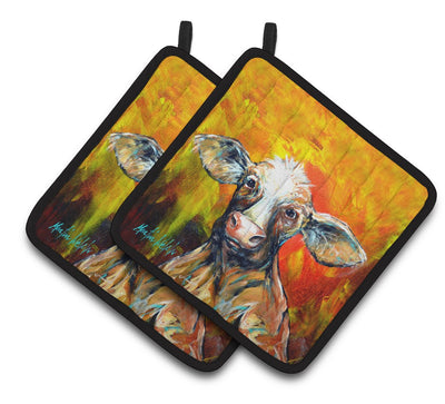 Buy this Happy Cow Pair of Pot Holders MW1331PTHD