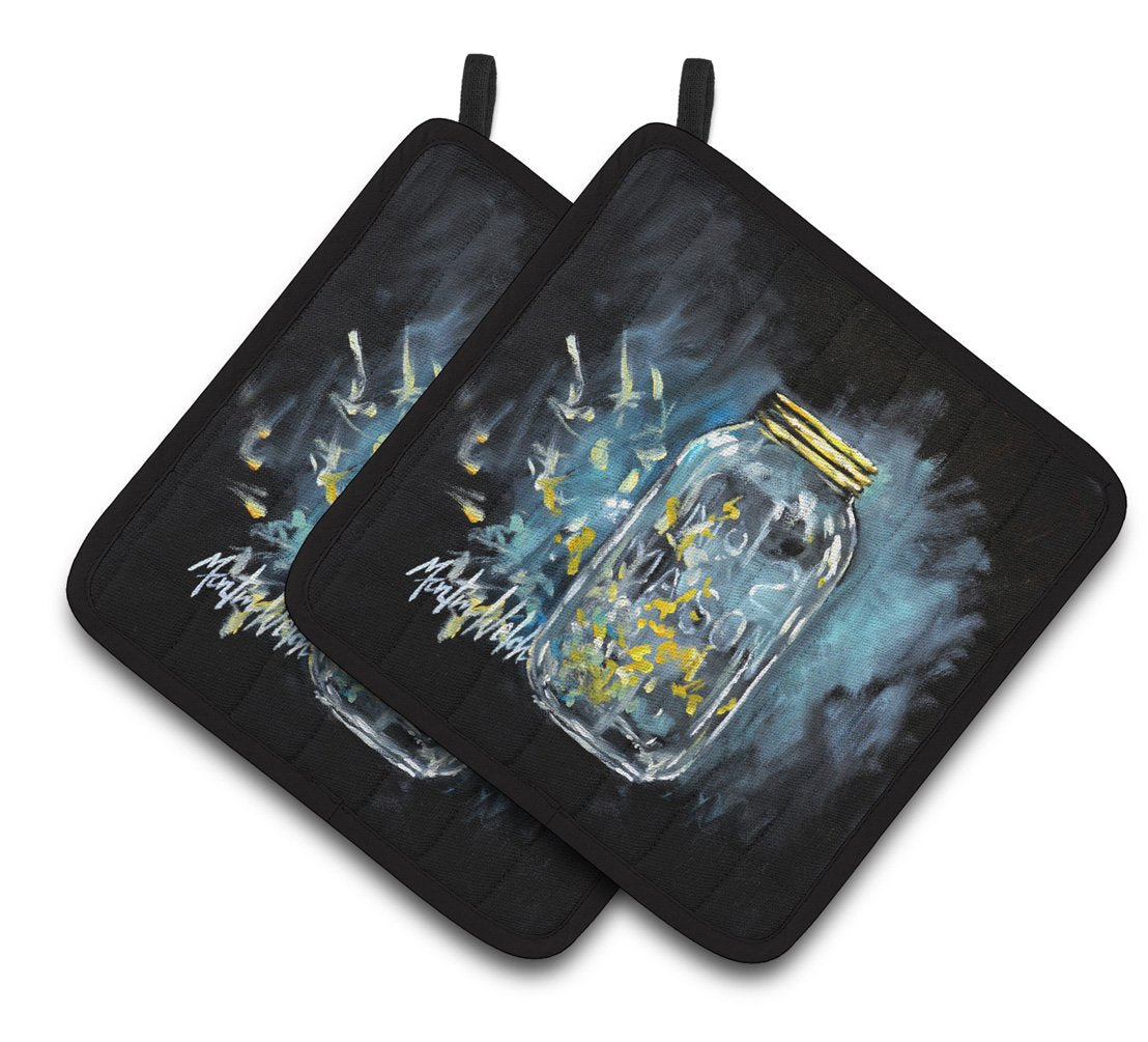 Buy this Lightning Bugs Pair of Pot Holders MW1335PTHD