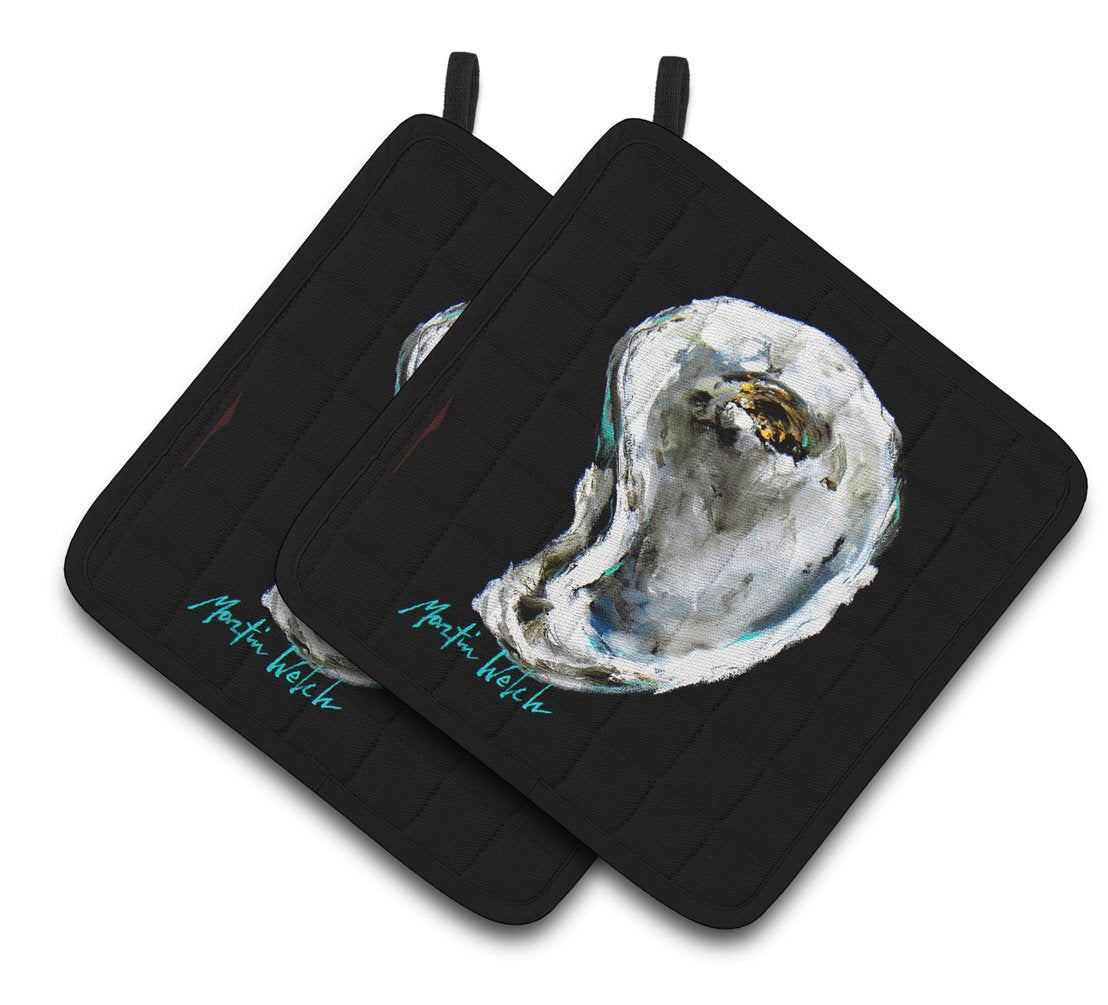 Buy this Lucky Oyster Pair of Pot Holders MW1336PTHD