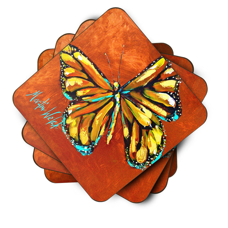 Buy this Monarch Butterfly Foam Coaster Set of 4 MW1339FC