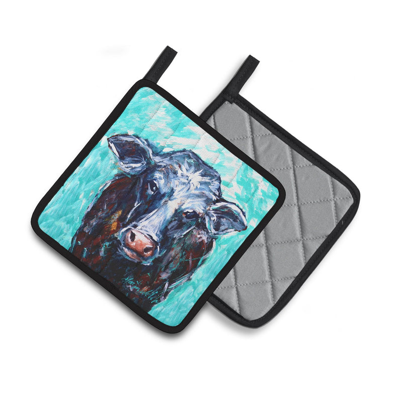 Buy this Moo Cow Pair of Pot Holders MW1340PTHD