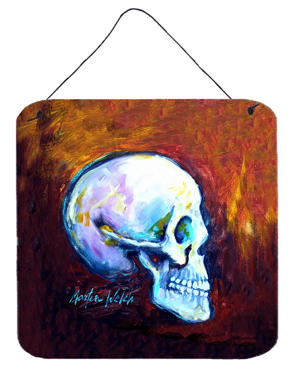 Buy this Skeleton My Best Side Wall or Door Hanging Prints MW1341DS66