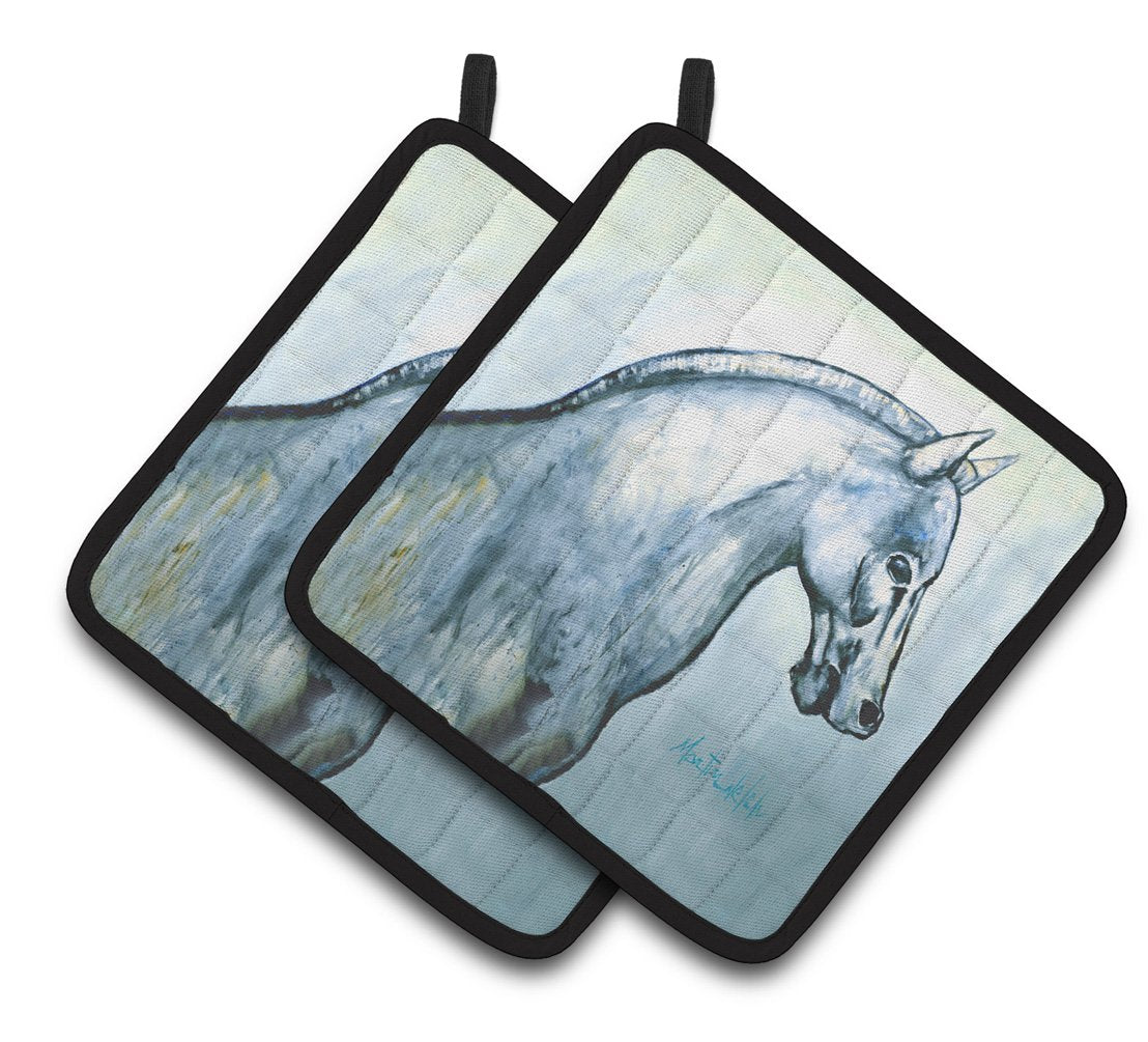 Buy this Noble Horse Pair of Pot Holders MW1342PTHD