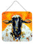 Buy this Peach Wool Sheep Wall or Door Hanging Prints MW1343DS66