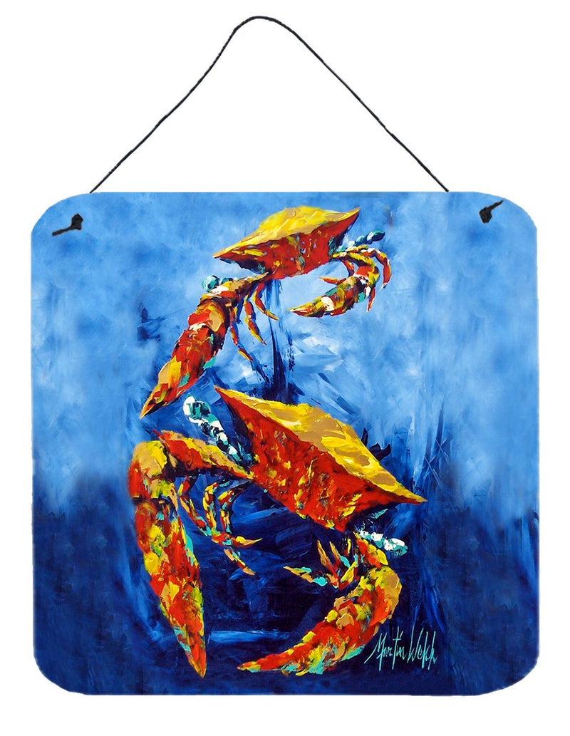 Buy this Crab Puddle O' Two Wall or Door Hanging Prints MW1345DS66