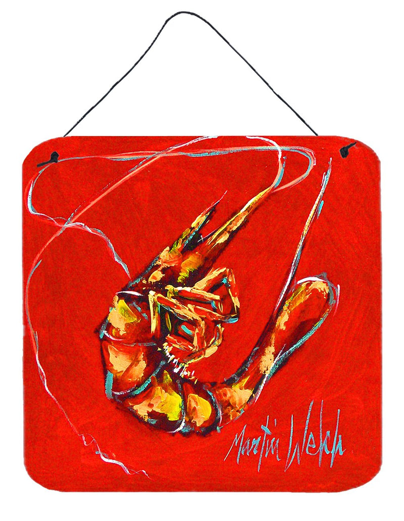 Buy this Red Shrimp Wall or Door Hanging Prints MW1347DS66