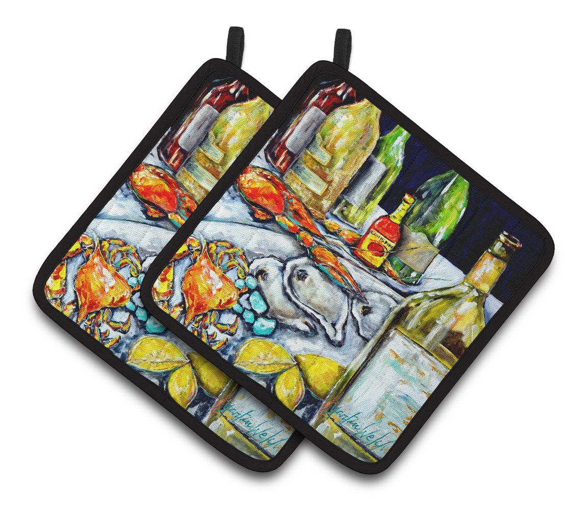 Buy this Sit a Spell Pair of Pot Holders MW1349PTHD