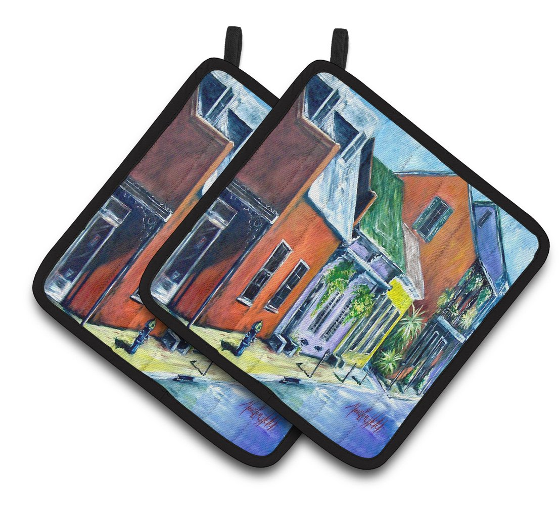 Buy this Somewhere Close Houses Pair of Pot Holders MW1350PTHD