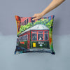 Streetcar St. Charles #2 Fabric Decorative Pillow MW1351PW1414 by Caroline's Treasures