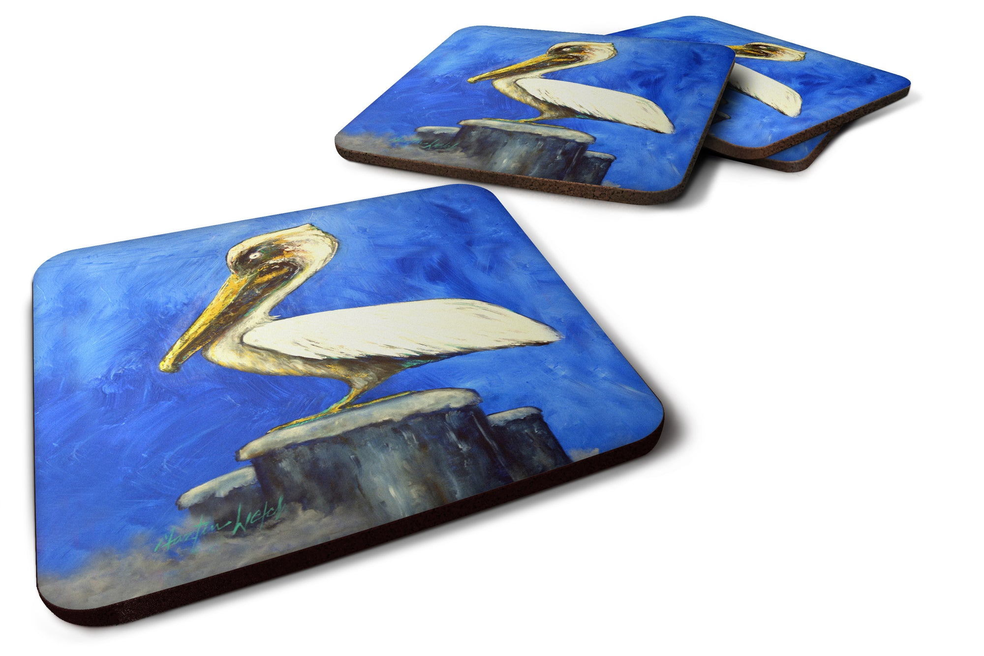 Buy this Pelican Texas Pete Foam Coaster Set of 4 MW1352FC