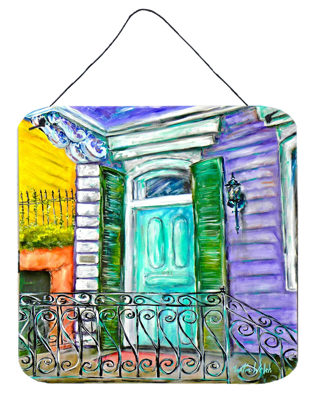 Buy this The House Next Door Wall or Door Hanging Prints MW1354DS66