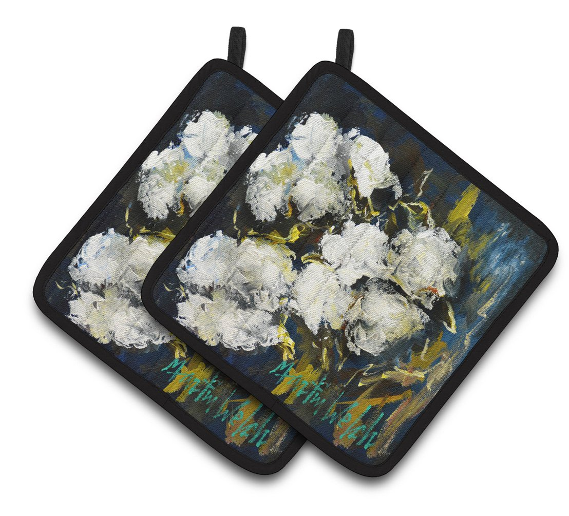 Buy this Three Boll Cotton Pair of Pot Holders MW1357PTHD