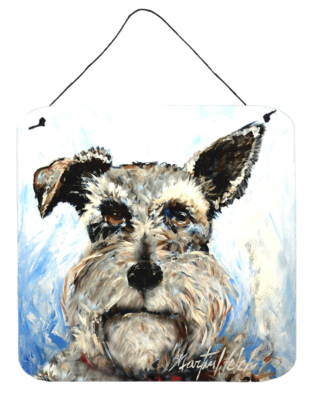 Buy this Schnauzer Whiter Beard Wall or Door Hanging Prints MW1358DS66
