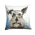 Buy this Schnauzer Whiter Beard Fabric Decorative Pillow MW1358PW1414