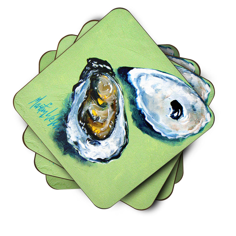 Buy this Two Shells Oyster Foam Coaster Set of 4 MW1361FC