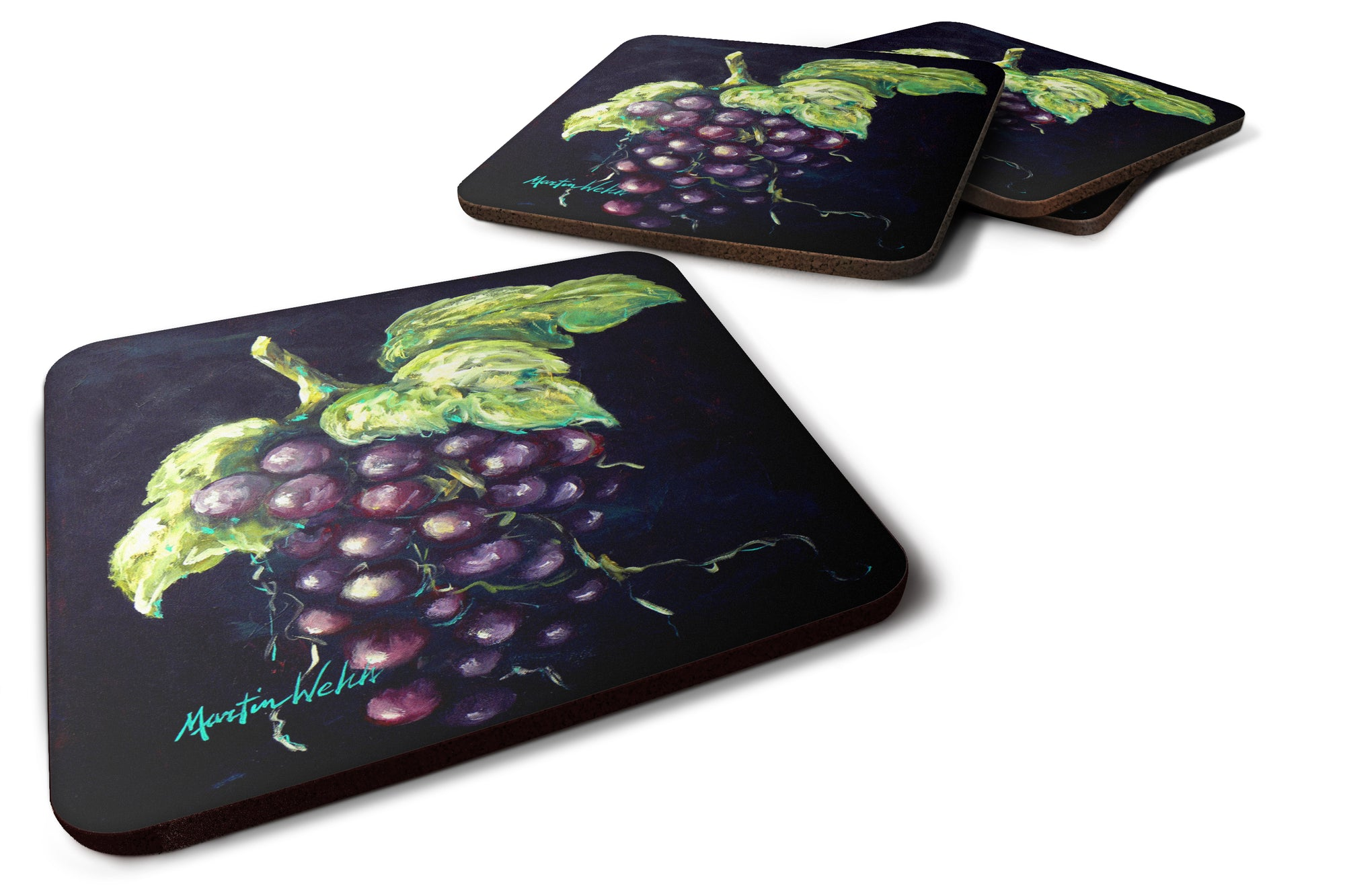 Buy this Welch's Grapes Foam Coaster Set of 4 MW1362FC