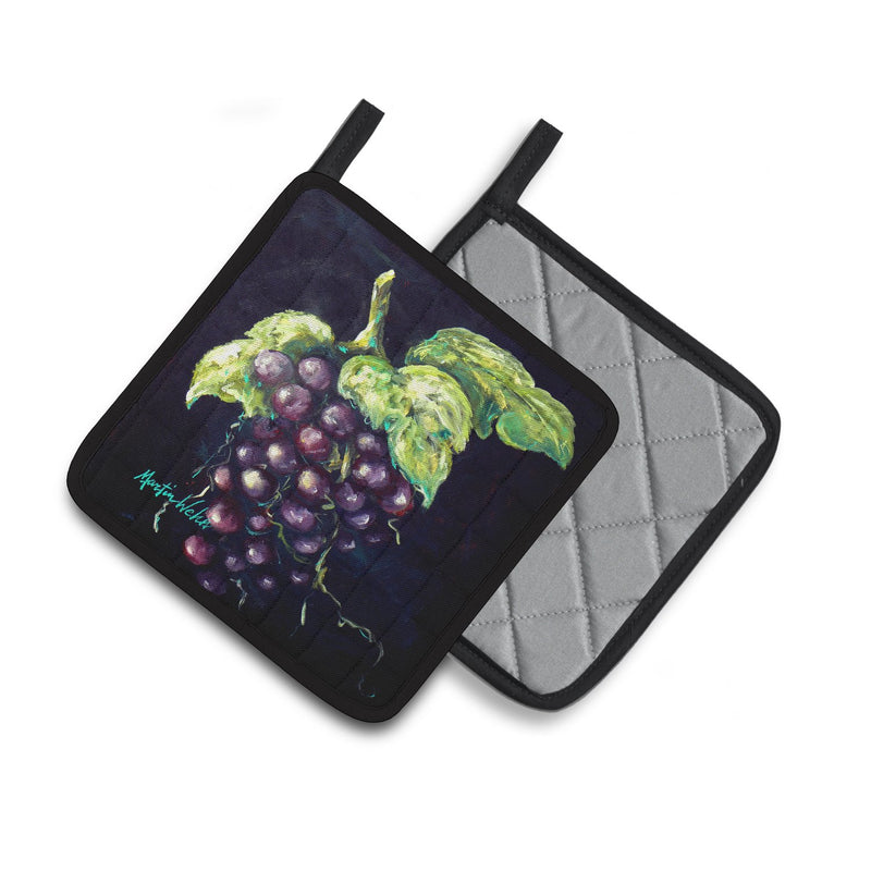 Buy this Welch's Grapes Pair of Pot Holders MW1362PTHD