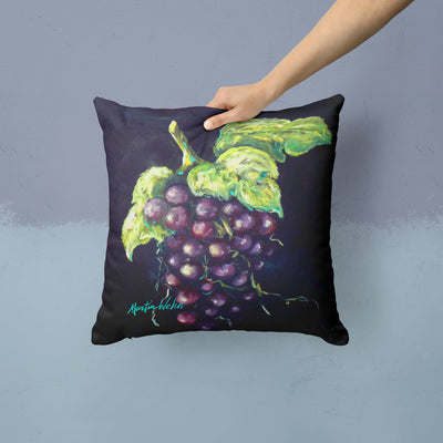 Welch's Grapes Fabric Decorative Pillow MW1362PW1414