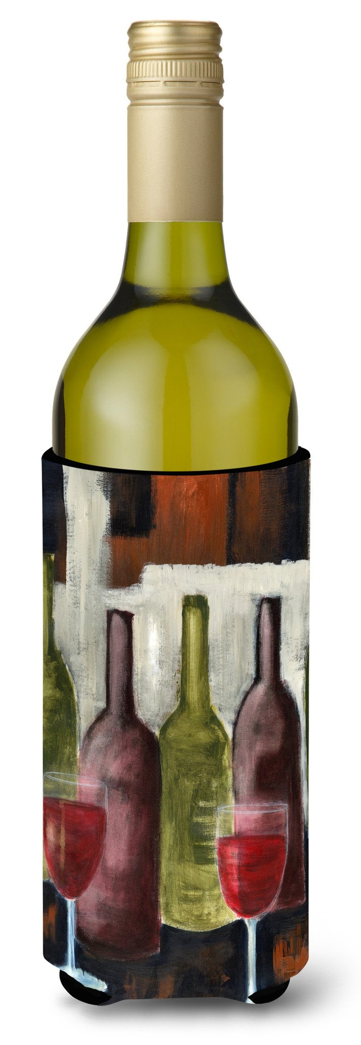 Buy this Red Wine by Petrina Sutton Wine Bottle Beverage Insulator Hugger PET0216LITERK