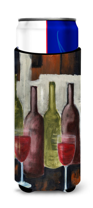 Buy this Red Wine by Petrina Sutton Ultra Beverage Insulators for slim cans PET0216MUK