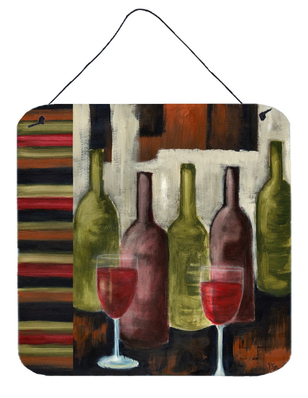 Buy this Red Wine by Petrina Sutton Wall or Door Hanging Prints PET216ADS66
