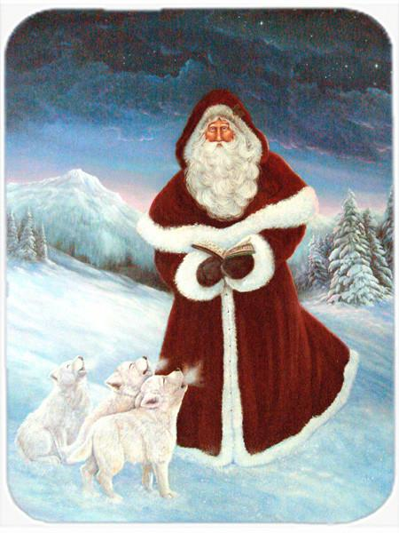 Buy this A Spirit of Harmony Santa Claus Glass Cutting Board Large PJC1002LCB