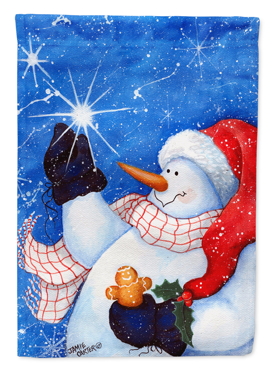 This Ones for You Snowman Flag Garden Size PJC1022GF by Caroline's Treasures