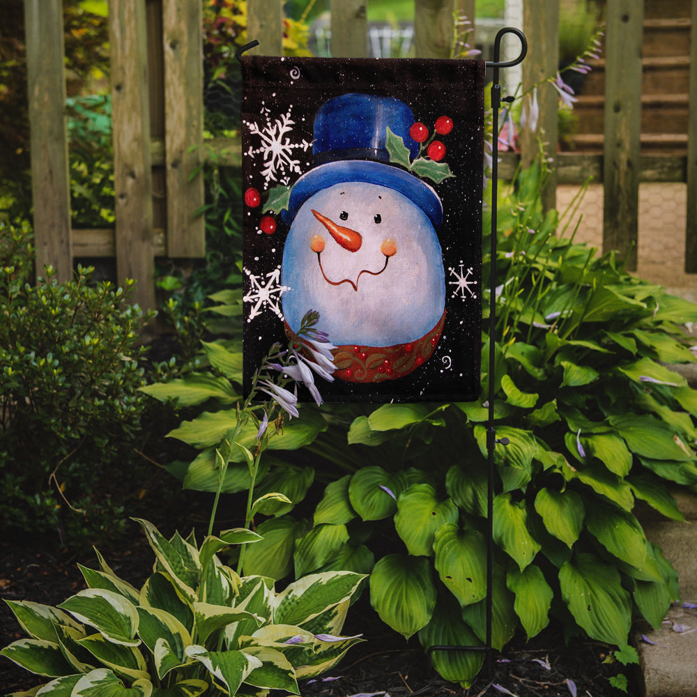Top Hat Greetings Snowman Flag Garden Size PJC1023GF by Caroline's Treasures