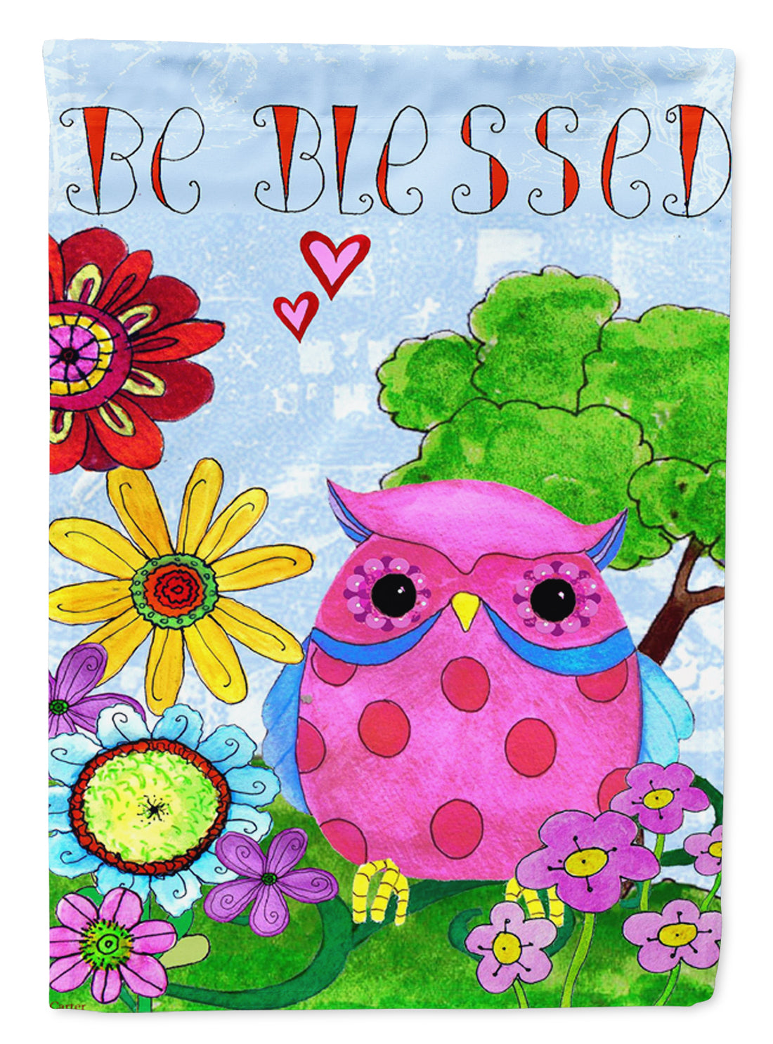 Buy this Be Blessed Owl Flag Garden Size PJC1026GF