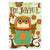 Buy this Be Joyful Owl Flag Garden Size PJC1028GF