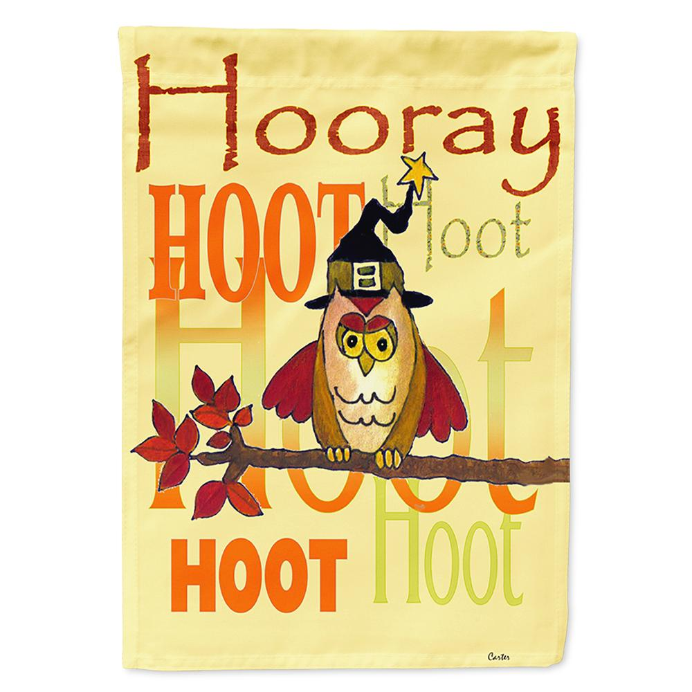 Buy this Hooray Hoot Hoot Owl Flag Garden Size PJC1030GF