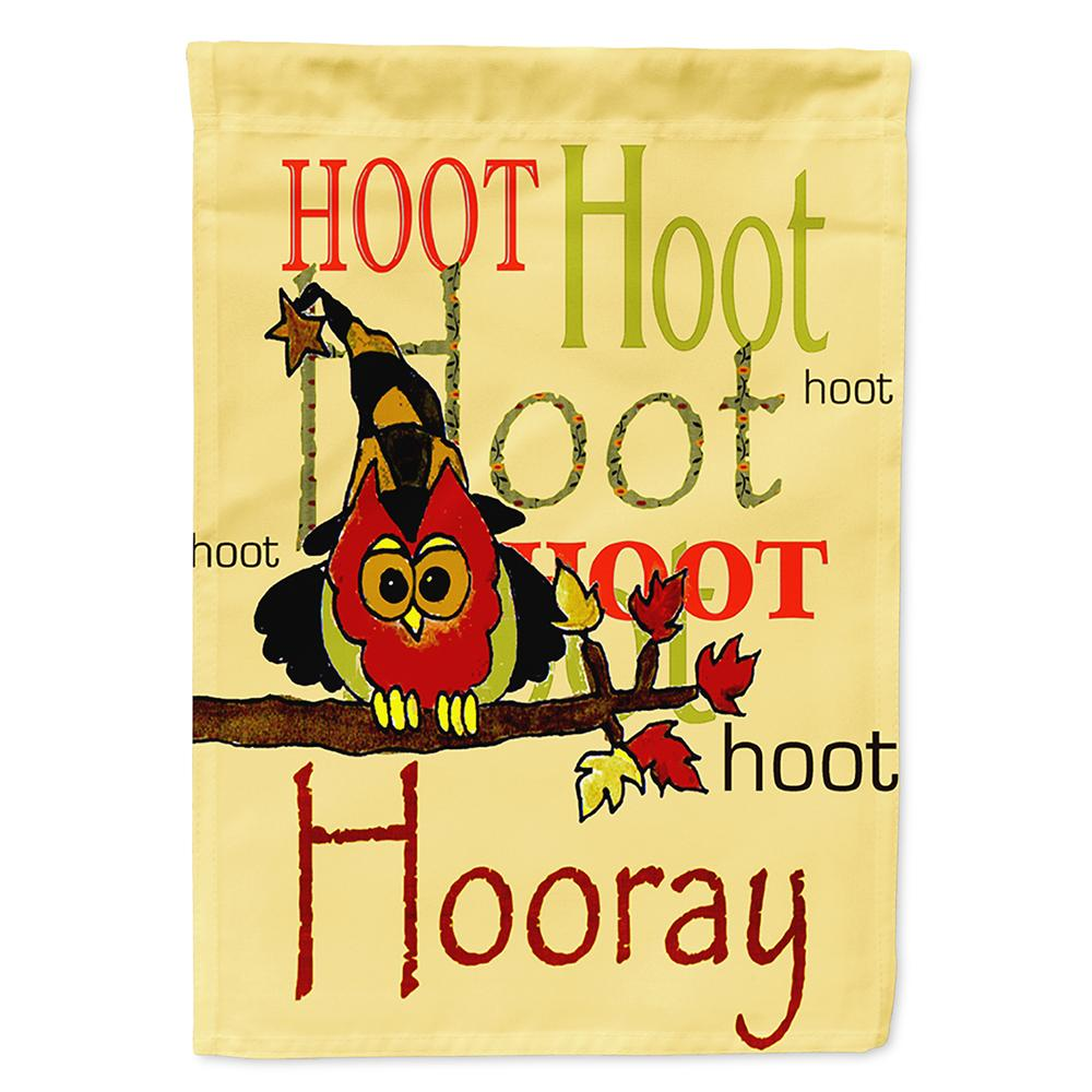 Buy this Hoot Hoot Hooray Owl Flag Garden Size PJC1031GF