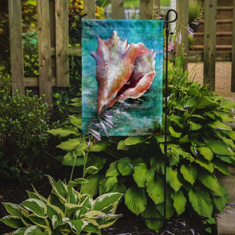 Buy this The Jewel of the Sea Shell Flag Garden Size PJC1036GF