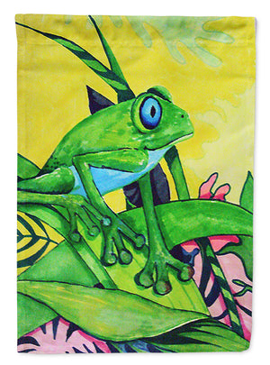 Buy this Summer Daze Frog Flag Garden Size PJC1042GF