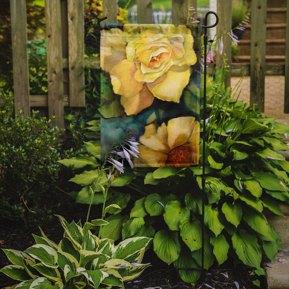 Yellow Roses Flag Garden Size PJC1047GF by Caroline's Treasures