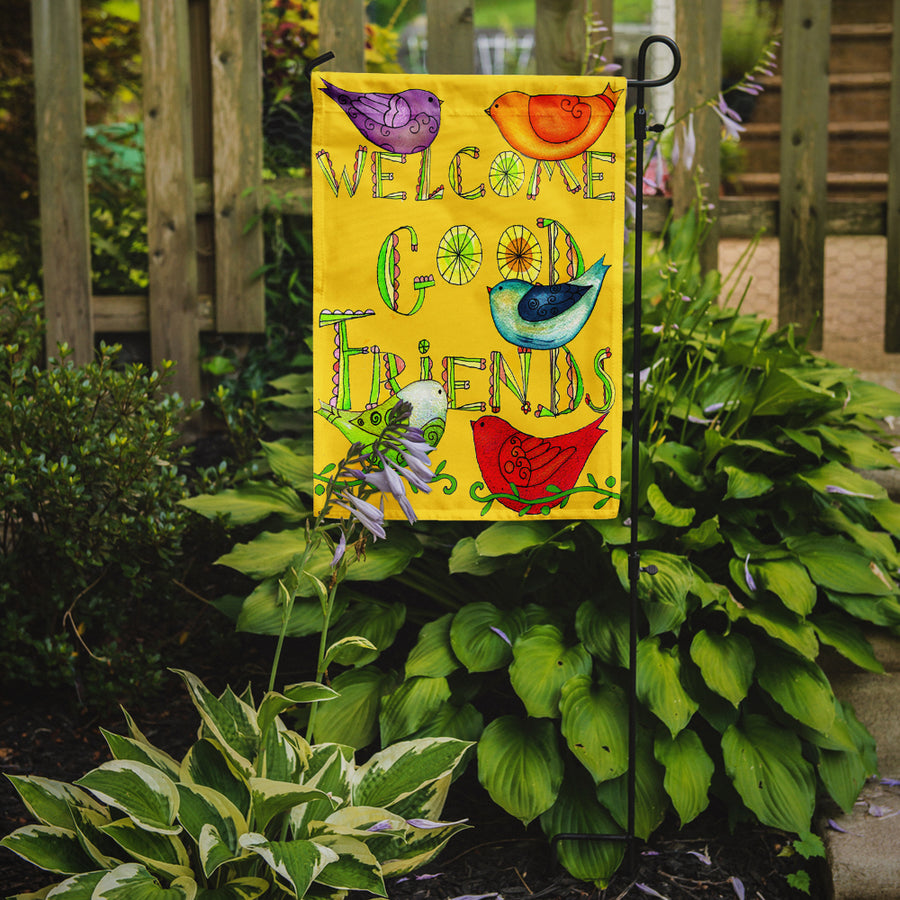 Buy this Welcome Good Friends Inspirational Flag Garden Size PJC1055GF