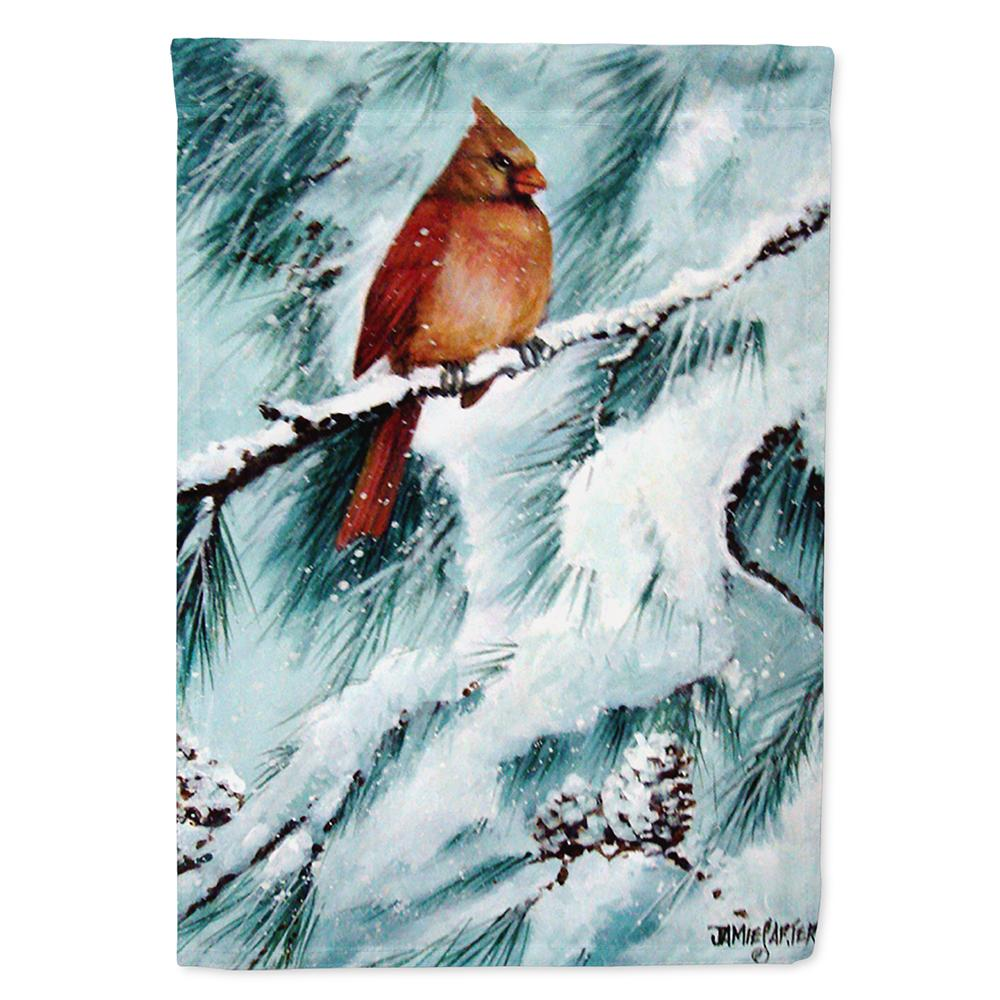 Buy this Winter's Glory Redbird 2 Northern Cardinal Flag Garden Size
