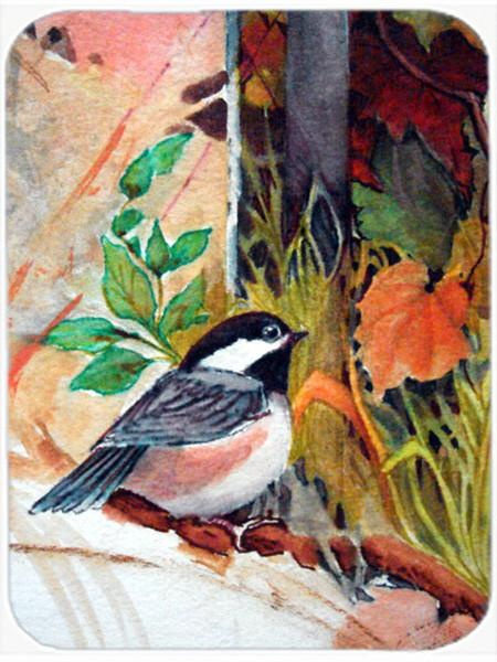 Buy this Fence Sitter Chickadee Glass Cutting Board Large PJC1059LCB