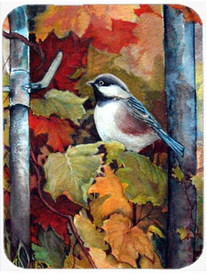 Buy this Fence Sitter Chickadee Glass Cutting Board Large PJC1060LCB