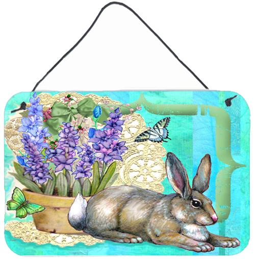 Buy this Springtime Easter Rabbit Wall or Door Hanging Prints PJC1068DS812