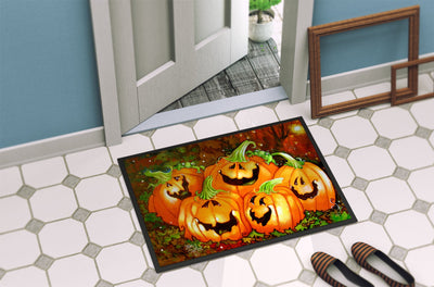 Such a Glowing Personality Pumpkin Halloween Indoor or Outdoor Mat 24x36 PJC1071JMAT