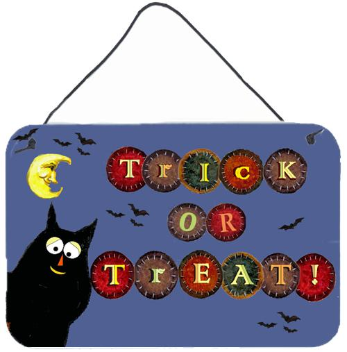 Buy this Trick or Treat Kitty Halloween Wall or Door Hanging Prints