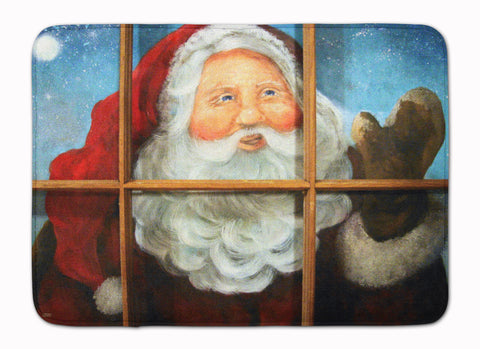 Buy this Kindly Visitor Santa Claus Christmas Machine Washable Memory Foam Mat PJC1079RUG